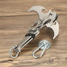 Gravity Hook, Stainless Steel EDC Tool Survival Grappling Climbing Claw Outdoor