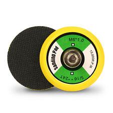 """SPTA 2"""" 50mm M6X1 Thread Hook&Loop Backing Pad Plate For Sanding Disc Air Sander"""
