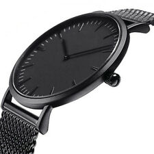 Fashion Men Women Stainless Steel Watch Analog Quartz Bracelet Wrist Watches New