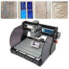 DIY Kit Desktop CNC Laser Engraving Router Carving PCB Milling Cutting Machine