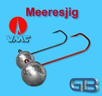 VMC Barbarian BN Rundkopf Jig 3//0 OHNE Bleischaft ver.Gewichte Jighaken Jigkopf