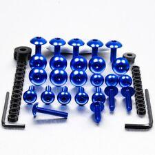 Pro-Bolt Aluminium Fairing Bolt Kit - Blue FHO188B Honda VFR800 V-TEC 02-05