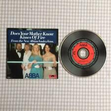 Abba CD Single Card Sleeve Does Your Mother Know / Kisses of Fire