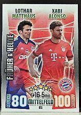 Fußball-Match Trading Cards Attax Inkunabeln von 2015