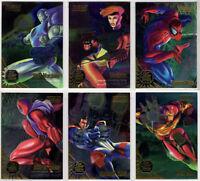 1995 Flair Annual Fleer Marvel X-Men DuoBlast Duo Blast You Pick Finish Your Set