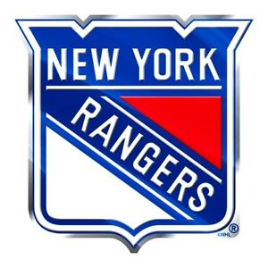 New York Rangers Auto or Hard Surface Emblem Decal NHL Licensed Hockey