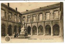 CPA-Carte Postale -Belgique-Vieux  Liège - Cour de l'Eglise St Jean VM7801