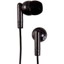 Groov-e Stereo Kandy In Ear iPod Mp3 Headphones Black