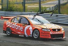 JAMIE WHINCUP  V8 SUPERCARS HAND SIGNED PHOTO 12'' x 8'' GLOSS