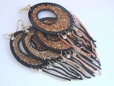 Cubic Zirconia Plastic Costume Earrings