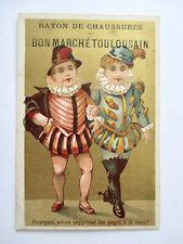 Chromo du Bon Marché Toulousain (Devinette) Pourquoi a-t-on Supprimé les Pages