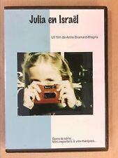 "RARE DVD DOCUMENTAIRE / JULIA EN ISRAEL / LES ""MINI REPORTERS"" / TRES BON ETAT"