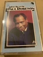The Best Of PAUL ROBESON Famous songs and spirituals (20 Track Cassette Tape)