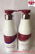 MON PLATIN BLACK CAVIAR Total Blonde SHAMPOO 500ml & Reviving CONDITIONER 500ml