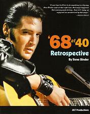 Elvis Presley - 68 at 40 A Retrospective Ltd Ed HARDBACK w/Promo 45 & Pic*