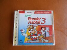 The Learning Company Deluxe! Reader Rabbit 3 (Ages 6-9 )