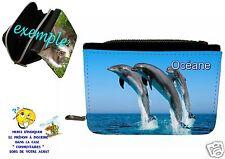 portefeuille dauphin personnalisable avec prénom réf 34