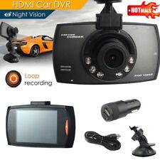 "Full HD 1080P 2.7"" LCD Car DVR Dashcam Camera Crash G-sensor 170° Night Vision"