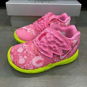Nike Kyrie Irving 5 V Spongebob Star Patrick Lotus CN4490 600 Shoes Toddler 5C