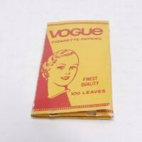 Vintage Vogue Finest Quality Leaves Cigarette Wrapping Papers 100 Ct Pack