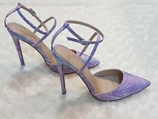 ASOS 'Picture Perfect' Jacquard Pointed High Heel Court Shoes UK Size 6