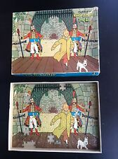 Puzzle Tintin Wavery Eldorado 1977 INCOMPLET ETAT CORRECT