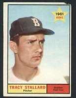 1961 Topps #81 Tracy Stallard EX/EX+ RC Rookie Red Sox 47899