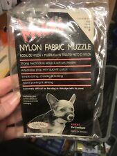 Mikki Training Soft Nylon Dog Muzzle Size 0