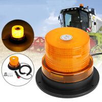 32 LED BEACON MAGNETICO EMERGENZA ROTANTE STROBO LAMPEGGIANTE LUCE AMBRA  /