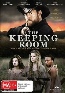 THE KEEPING ROOM DVD, NEW & SEALED, FREE POST