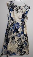 Sunny Girl Dress (Blue Floral print)(size - 12)
