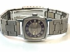 Vintage Women's Cornavin 17Jewels Mechanical Windup  Watch SilverTone (W-1701-7)