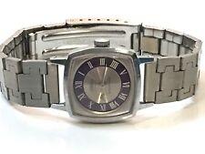 Vintage Women's Cornavin 17Jewels Mechanical Windup  Watch SilverTone (W-1701-7)