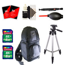 Tall Tripod and More for Canon EOS Rebel T5 T5i T6 T6i and All Digital Cameras