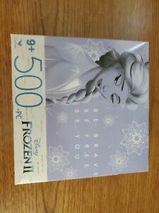 NEW 500 Piece Jigsaw Puzzle Disney 14 in x 11 in, Disney's Frozen 2 Elsa