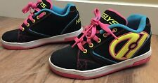 Heelys Propel 2.0 #770512 Multi Color Black Sneakers Skate Shoes Sz 4 Yth Youth