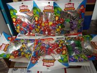 Marvel Superhero Adventures Figures (Series 1 2012) All 6 Playskool Heroes Set