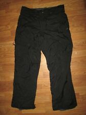 Mens COLUMBIA insulated fleece lined waterproof ski pants sz XL snow snowboard