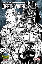 STAR WARS DARTH VADER #1 MARK BROOKS MIDTOWN COMICS SKETCH VARIANT MARVEL COMICS