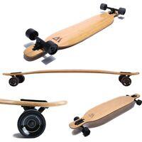 Magneto Longboard - Bamboo & Fiberglass Drop Through Longboard Cruiser