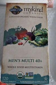 Garden of Life - mykind organics Men's 40+ Multivitamin 120 Vegan Tablets 2023