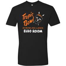 Restaurant Tiki Bar T Shirt Tee Retro Hula Rum Mug Elbo Room Tropic Bowl