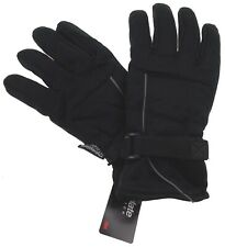 Black Structure Gloves 3M Thinsulate Winter Sport Mens One Size NWT