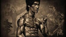 Bruce Lee Poster Length :1200 mm Height: 700 mm  SKU: 2121