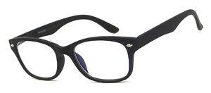 Computer/Reading/Gaming Blue Light Blocking (and UV) Glasses 0.00-2.50 Black