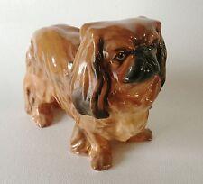 ROYAL DOULTON Bone China PEKINESE Pekingese Dog HN 1012 Medium by Frederick Daws