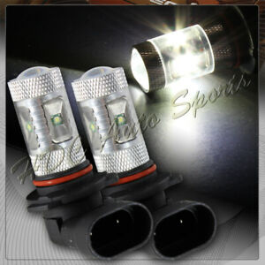 2 X 9006 HB4 CREE White 6 LED 30W High Power Headlight Fog Driving Light Bulbs