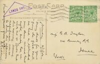 "GB ""PENZANCE CWL."" rare multiple impression machine postmark+ ""LANDS END"" cachet"