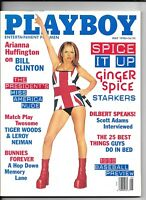 Back Issue May 1998 Playboy ~ Ginger Spice Cover & Nudes ~ VERY FINE/NEAR MINT