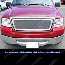 Fits 2004-2008 Ford F-150 F150 Stainless Mesh Grille Insert